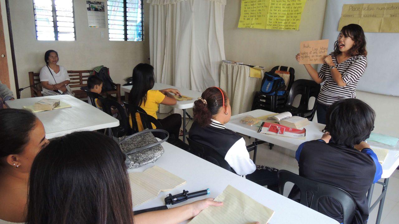 Instructional-Mnager-Hadassah-Teaching-her-class-in-Baras-Rizal